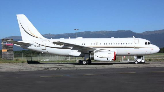 Airbus Corporate Jet ACJ319