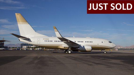 2001 Boeing BBJ 737-7ET