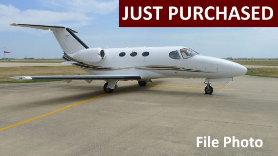 2012 Citation Mustang – Just Purchased!