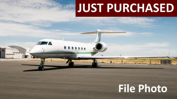 2013 Gulfstream G550 – Just Purchased!