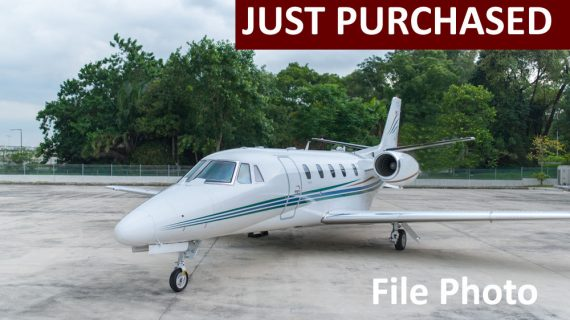 2012 Citation XLS+ – Just Purchased!