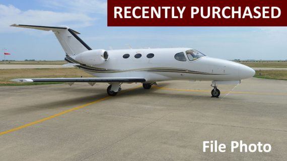 2012 Citation Mustang – Recently Purchased!