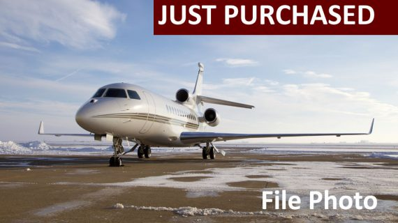 Falcon 7X – Just Purchased!
