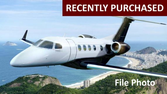 2017 Phenom 300E : New Aircraft – Recently Purchased!