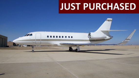 Falcon 2000LXS – Just Purchased!
