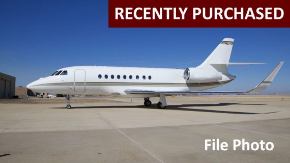 Falcon 2000LXS – Recently Purchased!