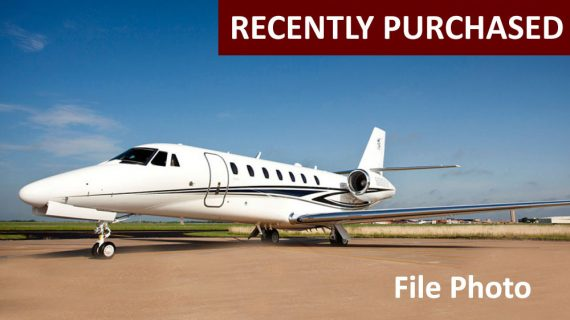 Citation Sovereign+ – Recently Purchased!