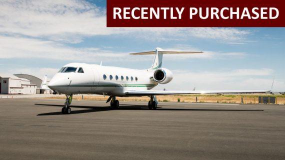 Gulfstream G550 – Recently Purchased!