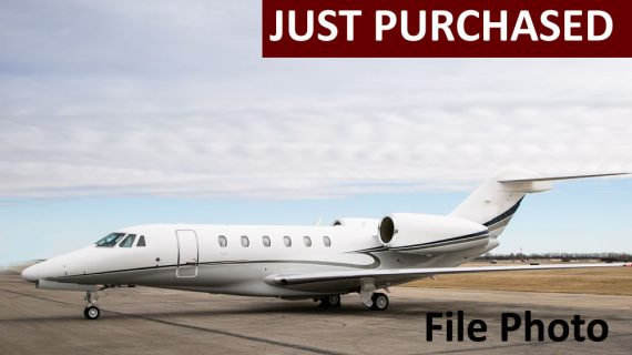 Citation X+ – Just Purchased!