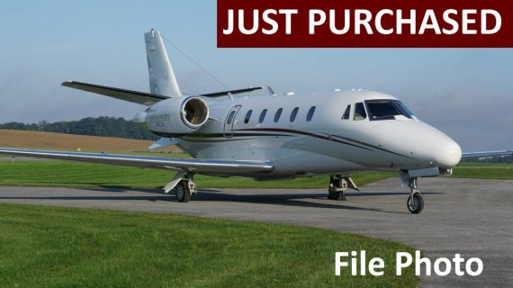 Citation XLS+ – Just Purchased!